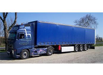Camion Bache ETr transport Pau